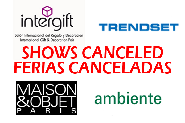 SHOWS CANCELED